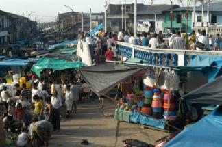 Iquitos Straßenmarkt