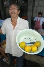 Iquitos Markt Früchte Anbieter