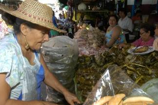 Iquitos Marktstand