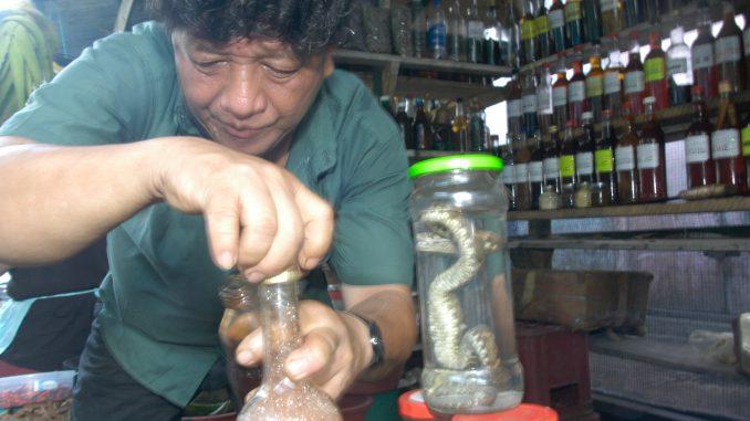 Arznei aus dem Regenwald Iquitos Heilmittel Markt